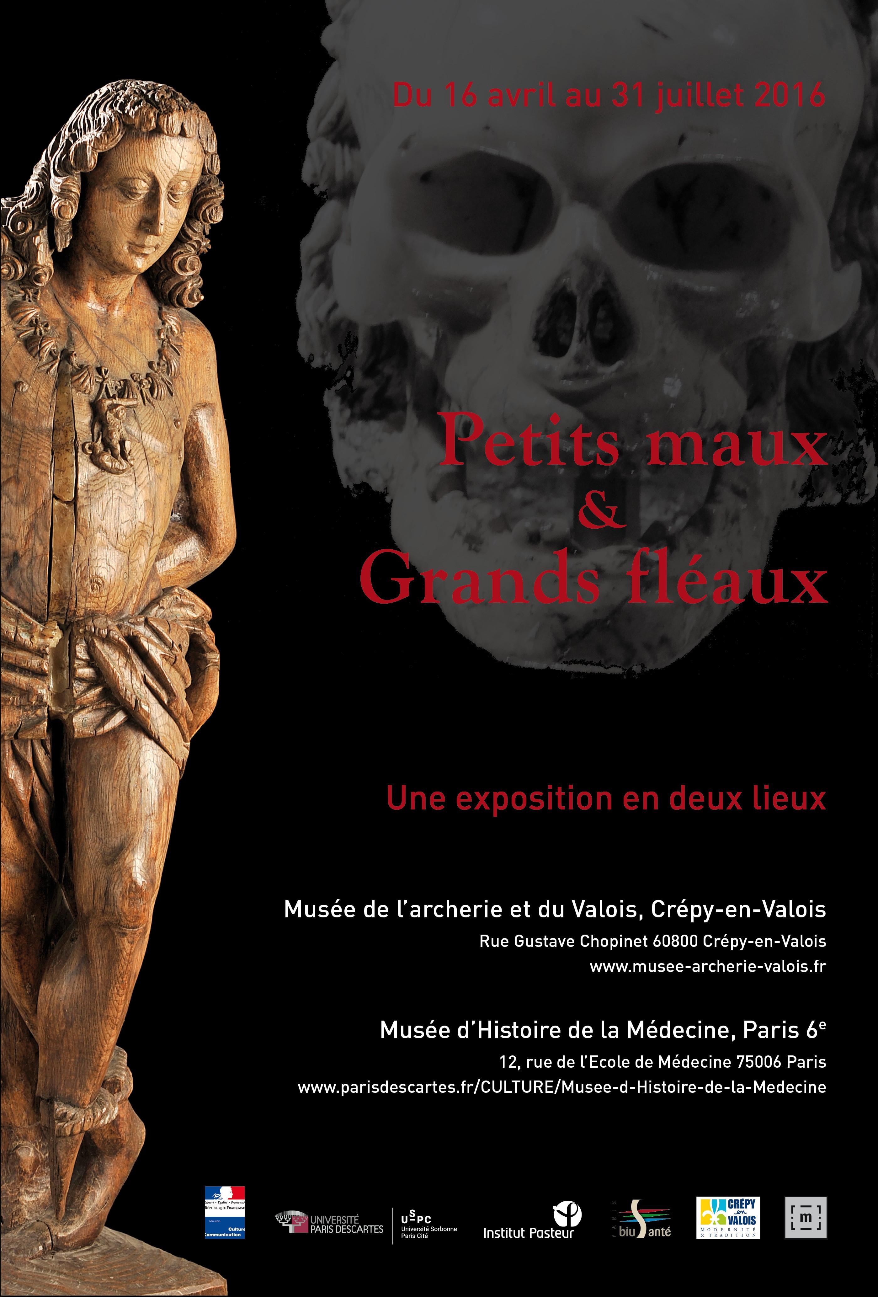 """Exposition """"Petits maux et grands fléaux"""""""